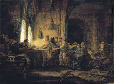 Parable Photograph - Rembrandt, Harmenszoon Van Rijn, Called by Everett