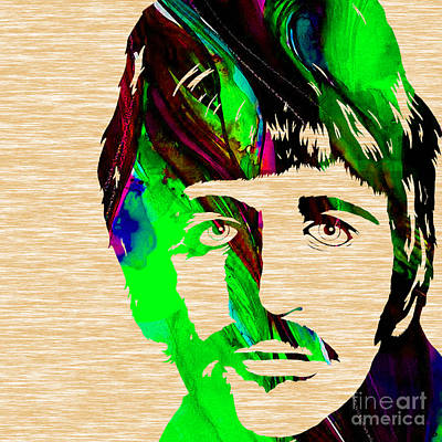 Musicians Mixed Media - Ringo Starr Collection by Marvin Blaine