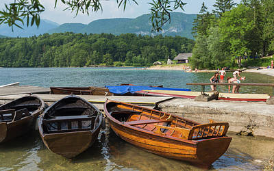 Slovenia.  Triglav National Park Art Print by Ken Welsh