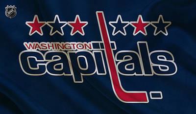 Skate Photograph - Washington Capitals by Joe Hamilton