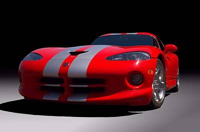 Photograph - 2000 Dodge Viper Gts by Tim McCullough