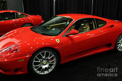 Photograph - 2000 Ferrari 360 Modena - 5d19822 by Wingsdomain Art and Photography