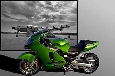 Photograph - 2000 Kawasaki Ninja  by Tim McCullough