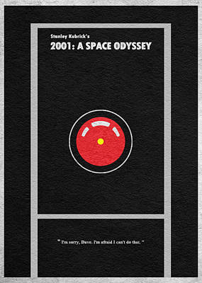 2001 A Space Odyssey Art Print by Ayse Deniz