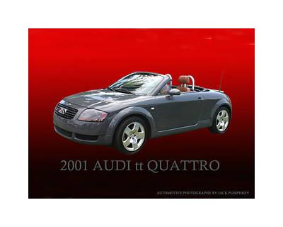 Photograph - 2001 Audi T T Quattro D H C by Jack Pumphrey