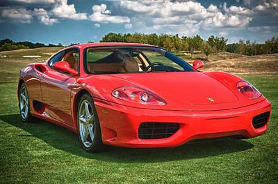 Photograph - 2001 Ferrari 360 Modena by Sebastian Musial