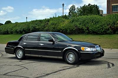 Photograph - 2001 Lincoln Town Car Cartier L by Tim McCullough