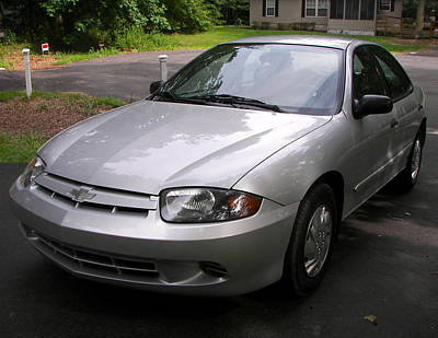 Photograph - 2003 Chevy Cavalier by Amazing Photographs AKA Christian Wilson