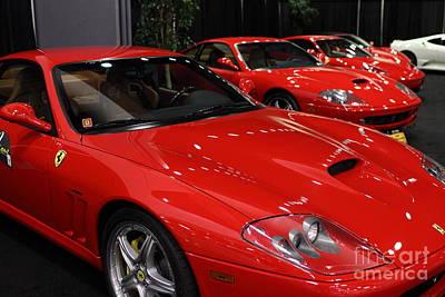 Photograph - 2003 Ferrari 575f1 Maranello - 5d20266 by Wingsdomain Art and Photography