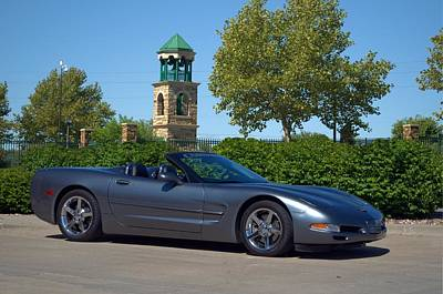 Photograph - 2004 Corvette Convertible by Tim McCullough