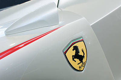 Photograph - 2005 Ferrari Fxx Evoluzione Emblem by Jill Reger
