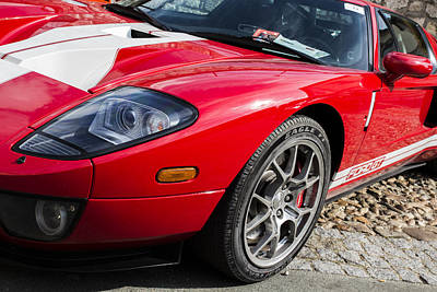 Collectible Sports Art Photograph - 2005 Ford Gt by Georgia Fowler