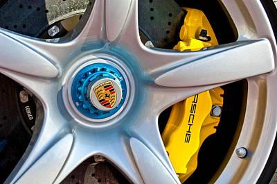2005 Photograph - 2005 Porsche Carrera Gt Wheel Emblem -3135c by Jill Reger