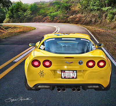 2006 Corvette Art Print