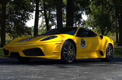 Photograph - 2006 Ferrari F430 by Tim McCullough