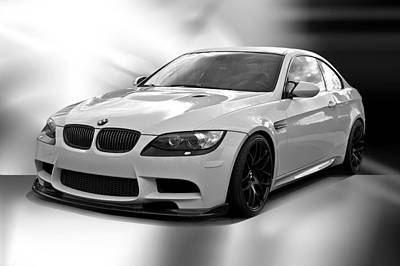 2008 Bmw M3 Coupe II Art Print by Dave Koontz