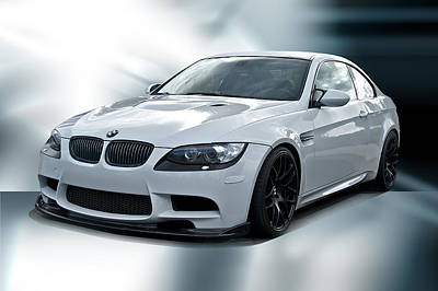 Rock Royalty - 2008 BMW M3 Sports Coupe by Dave Koontz
