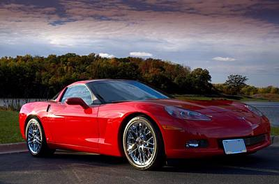Photograph - 2008 Corvette by Tim McCullough