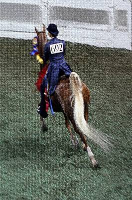 2008-jj World Championship Horse Show - Louisville Ky Art Print by Thia Stover