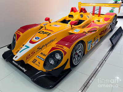 2008 Porsche Rs Spyder Evo Print by Paul Fearn