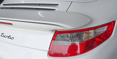 Photograph - 2008 Porsche Turbo 911 Rear by Roger Mullenhour