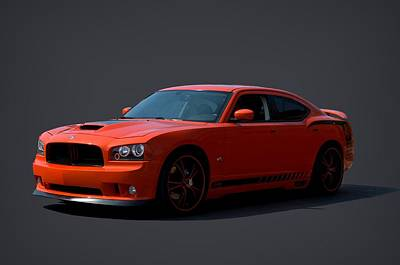 2009 Dodge Srt8 Super Bee Art Print by Tim McCullough