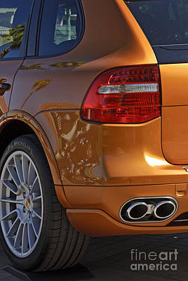 Photograph - 2009 Porsche Cayenne Gts Burnt Orange  by David Zanzinger
