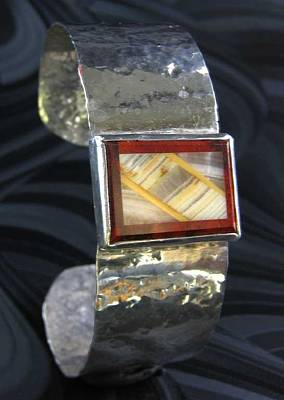 Jewelry - 201 Onyx Cuff by Dianne Brooks