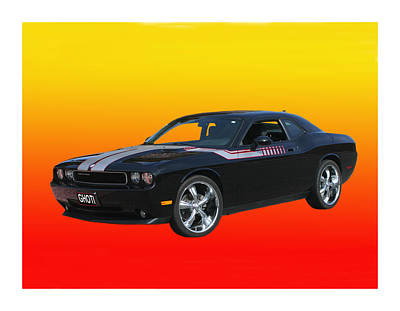 Photograph - 2010 Dodge Challenger by Jack Pumphrey