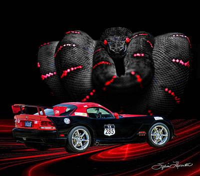 2010 Dodge Viper Art Print