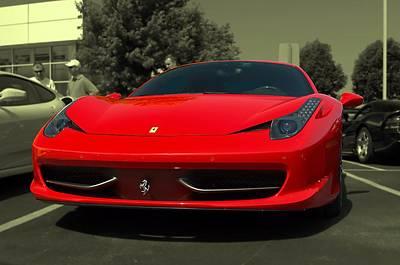 Photograph - 2010 Ferrari 458 Italia by Tim McCullough