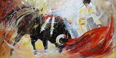 Painting - 2010 Toro Acrylics 01 by Miki De Goodaboom