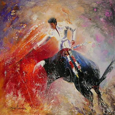 Painting - 2010 Toro Acrylics 05 by Miki De Goodaboom