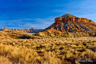 Photograph - Late Afternoon Utah by Christopher Holmes