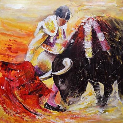 Painting - 2011 Toro Acrylics 01 by Miki De Goodaboom