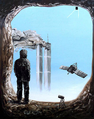 Painting - 2012-confronting Inevitability by Ryan Demaree