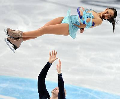 Figure Skating Photograph - 2012 European Figure Skating by Science Photo Library