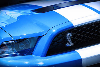 Photograph - 2012 Ford Mustang Shelby Gt500 by Gordon Dean II