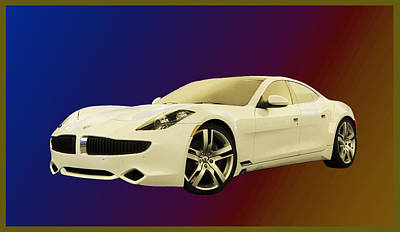 Photograph -  Karma Fisker 2012  by Jack Pumphrey