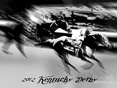 2012 Kentucky Derby Art Print