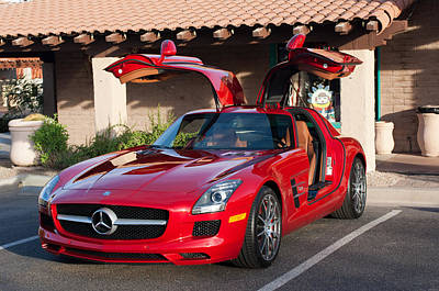 Photograph - 2012 Mercedes-benz Sls Gullwing by Jill Reger