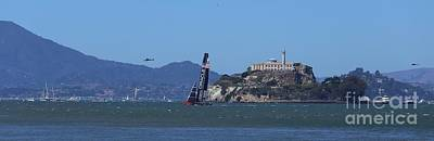 Photograph - 2013 America's Cup 1 by Theresa Ramos-DuVon