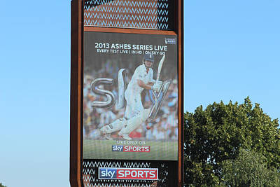 Kitchen Mark Rogan Rights Managed Images - 2013 Ashes Series billboard Royalty-Free Image by Ash Sharesomephotos