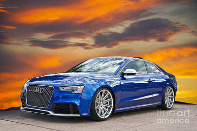 2013 Audi Rs5 Sports Coupe Art Print by Dave Koontz