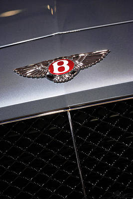 Photograph - 2013 Bentley Continental Gt V8 by Gordon Dean II