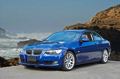 German Race Car Photograph - 2013 Bmw 328i Sports Coupe by Dave Koontz