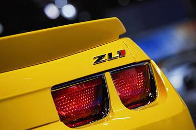 Photograph - 2013 Chevy Camaro Zl1 by Gordon Dean II