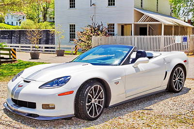 Photograph - 2013 Corvette 427 Anniversary Special by Simply  Photos