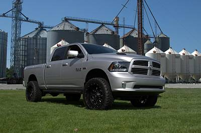 Photograph - 2013 Dodge Ram Pickup Truck by Tim McCullough