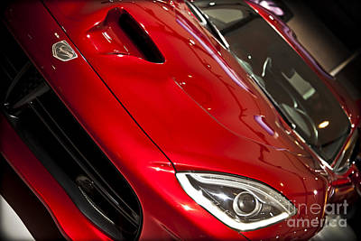2013 Dodge Viper Srt Print by Kamil Swiatek